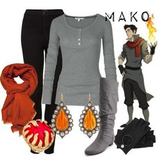 """Mako"" by amarie104 on Polyvore"