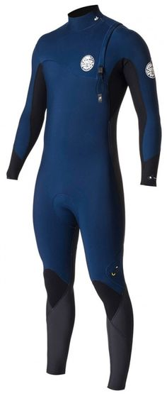 3/2mm Men's Rip Curl FLASH BOMB Zip Free Fullsuit
