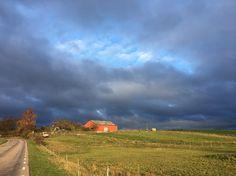 Himla vackra vyer på vägen till Skurup!