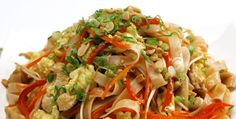 This is one of the best Chicken Pad Thai I ever had!