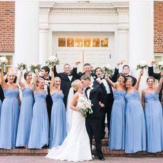Something blue  And definitely something to remember  #dessygroup #bridesmaids  @newyorkbrideandgroom