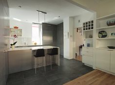 Somerville Kitchen - modern - Kitchen - Boston - Marvel Construction