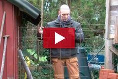 VIDEO: Takapihalla on hiukan sekaista, joten puutarhatyökalujen peitoksi pystytetään pieni aita, jonka eteen voi istuttaa köynnöskasveja.