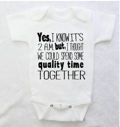 Funny Baby Bodysuit for Baby Boys and Baby Girls, Newborn Baby Clothes, Newborn Clothing, Baby Shower Gifts by HenryAndTaylor on Etsy