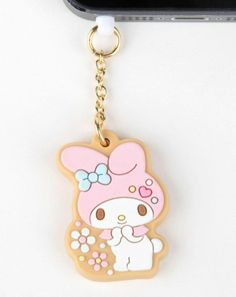 #MyMelody's a charm! Love this earphone jack for total cuteness...