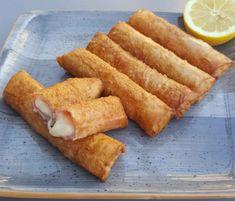 Γεμιστές φλογέρες τυριών στον φούρνο με μπεσαμέλ και μπέικον Sweet Potato, Potatoes, Vegetables, Food, Potato, Essen, Vegetable Recipes, Meals, Yemek