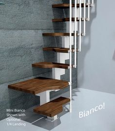 Discover thousands of images about Mini Bianco Space Saver Loft Staircase > Space Saver loft stairs > Home Page > Spiral Stairs Direct