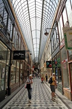 Passage Jouffroi, Paris, France Copyright: Jean Claude Dresch