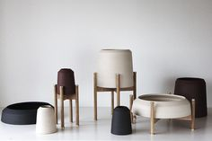 Objects of Use Vases is a minimalist design created by Denmark-based designer Maria Bruun. (3)