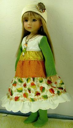 """Dianna Effner Little Darling 13"""" Dress-Fashion-Outfit Only ~ by Janet #ClothingAccessories"""