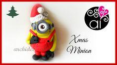 Polymer Clay Tutorial | Christmas Minion | DIY Minion Fimo | Despicable ...