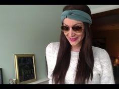 DIY: Turban Headband. NO SEW!