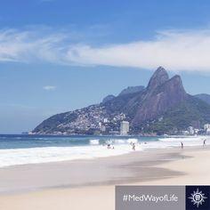 De levendige en kleurrijke sfeer van #Rio betoveren. #MSCArmonia #Brasil #Copacabana