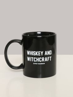 Whiskey and Witchcraft Mug - Gypsy Warrior
