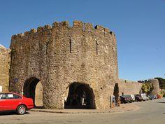 Old Town Walls at Tenby