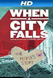 When a City Falls Poster