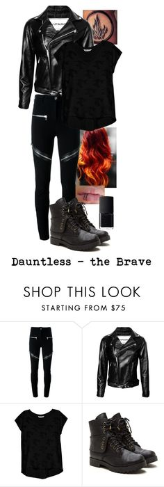 """""""Dauntless"""" by iheartharry66 ❤ liked on Polyvore featuring Givenchy, Bobeau and NARS Cosmetics"""