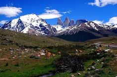 Torres del Paine w Patagonii, Chile