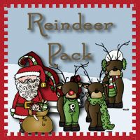 Free Reindeer Pack over 130 pages for ages 2 to 7 from 3Dinosaurs.com
