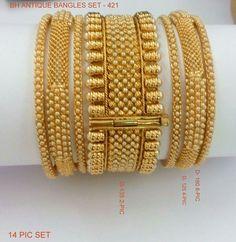 Beautiful Bangle Designs @shiilpas Plain Gold Bangles, Gold Bangles Design, Gold Plated Bangles, Gold Jewellery Design, Pakistani Jewelry, Bridal Bangles, Gold Jewelry Simple, Jewelry Design Earrings, Islam Beliefs