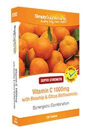 Vit C 1000mg | Rosehip | Citrus Bioflavonoids