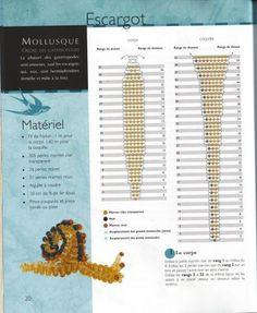 Snail  Схемы | biser.info - всё о бисере и бисерном творчестве