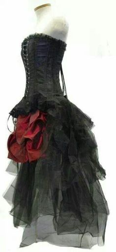 Gothic wedding dress x