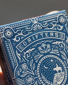 WEBSTA @ clovestpress - Very excited that @bucktwins are launching this deck designed by @neighborhood_studio. We printed the tuck in 1 hard letterpress hit with a rich indigo blue ink.#letterpress #tuckcase #bucktwins #dananddave #cardistry #neighborhoodstudio #playingcards