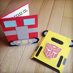 10 - Optimus Prime or Bumble Bee Inspired Transformers, Autobots, Custom Child Birthday Party Invitations on Etsy, $19.80