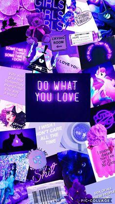 Purple love Wallpaper by me Iphone Wallpaper Vsco, Purple Wallpaper Iphone, Iphone Background Wallpaper, Tumblr Wallpaper, Love Wallpaper, Galaxy Wallpaper, Wallpaper Quotes, Disney Wallpaper, Aesthetic Colors