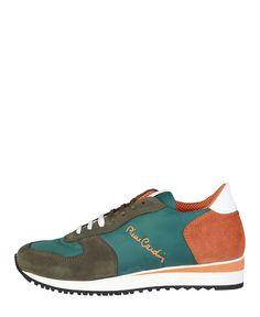 Sneaker uomo  PIERRE CARDIN 1710 Verde - Primavera Estate - titalola.c