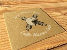 Cafe racer cult business card