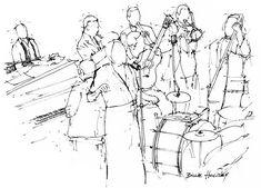 #art #artwork #instamusic #poster #birthdaygift #music #jazz #artprint #handmade #drawing #illustrator #sketch #illustration #artist #band #musicband #trumpet #piano
