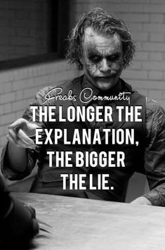 Most memorable quotes from Joker, a movie based on film. Find important Joker Quotes from film. Joker Quotes about who is the joker and why batman kill joker. Joker Qoutes, Joker Frases, Best Joker Quotes, Badass Quotes, Best Quotes, Dark Quotes, Strong Quotes, Wisdom Quotes, True Quotes