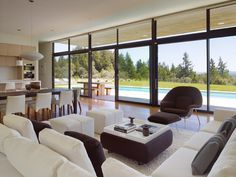 introduce daylight into the interior.