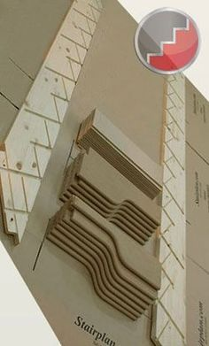 Flatpacked Spacesaver Staircase
