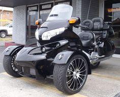 R18 R-18 R 18 Reverse Trike from Sturgis Motoren on GoldWing GL 1800