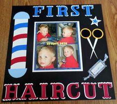 First Haircut - Scrapbook.com