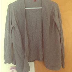 Merona Light Gray Cardigan Love this sweater! Perfect to just throw on for chilly summer nights and looks great with almost everything. Super comfortable and in perfect condition! Merona Sweaters Cardigans