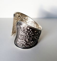 Repousse cuff bangle by SoniaHung on Etsy, $2200.00