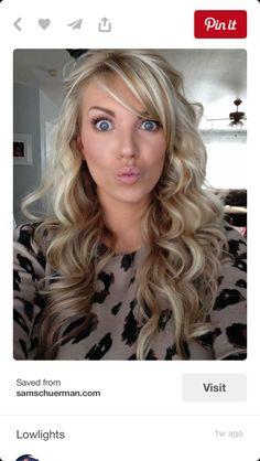 Blonde highlights!