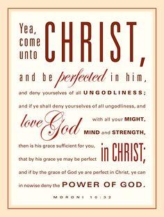 Come unto Christ. Prayer Quotes, Lds Quotes, Scripture Quotes, Scripture Journal, Scripture Study, Book Of Mormon Quotes, Lds Scriptures, Lds Church, Lds Mormon