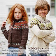 Eira by Nøstebarn. How To Start Knitting, Knitting For Kids, Baby Knitting, Sweater Knitting Patterns, Knitting Socks, Toddler Fashion, Kids Fashion, I Cord, Garter Stitch