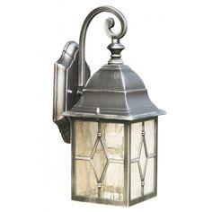 Genoa Lantern Wall Light   Searchlight 1642 Outdoor Wall Light