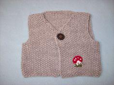 Pullunder - Babyweste - ein Designerstück von strickmarlen bei DaWanda