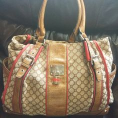 """""""Nine West"""" Large Handbag Great condition! No rips tears holes!! Nine West Bags"""