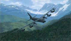 """The Art of Technology Catalog — """"Power"""" B-1B Bomber"""