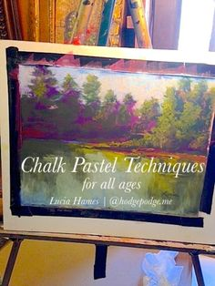 Part of being an artist (and you are an artist!) is continuing to practice and learn. Today we share some chalk pastel techniques that we think are creative fun at its best! (And don't miss a very special sale at the end - get our Fall Chalk Pastels ebook for FREE!) One of Nana's latest chalk pastel