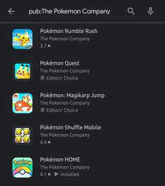 Are you an user struggling to find on the Play Store? Simply search another game like and then tap on the developer name to see more 🙂 Game Booth, Youtube Thumbnail, Pokemon, Android, Play, Games, Store, Search, Tent