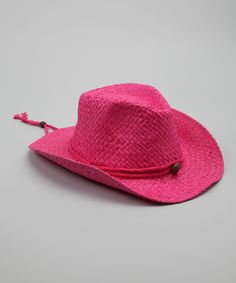620e1a3ae1f22 Angela   William Pink Cowboy Hat